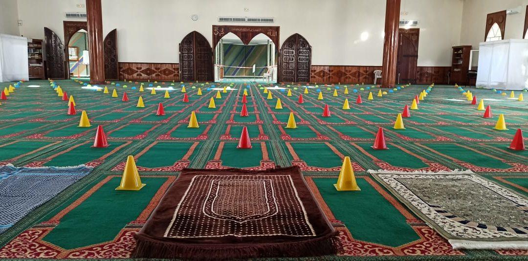 COVID19: reprise des Prières à la Mosquée